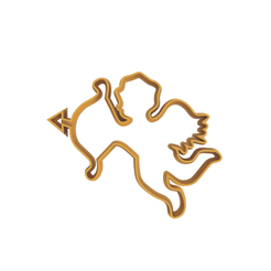 Eros V3.png Download STL file Eros Cookie Cutter (2 Versions in 1) - Commercial Version • Design to 3D print, dwain