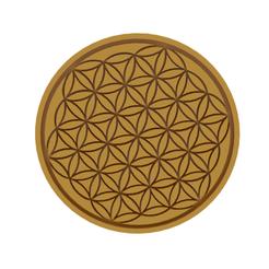 Life Flower v1.png Télécharger fichier STL Coupe-biscuit Fleur de vie • Design à imprimer en 3D, dwain