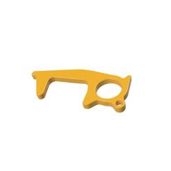 Download free 3D printing files Germ Key/Hook - Door Opener/Button Pusher/Bar Holder , dwain