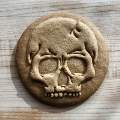 IMG_3994.jpg Download STL file Skull Cookie Cutter • 3D print model, dwain