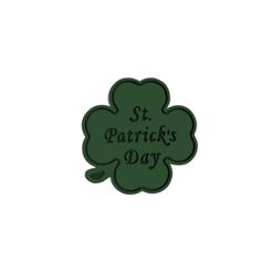 Download 3D printer designs Clover St Patrick's Day Cookie Cutter, dwain