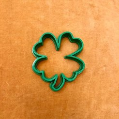 Download 3D printing files Clover Cookie Cutter, dwain