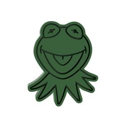 Kermit v1.png Download STL file Kermit Cookie Cutter • 3D printing object, dwain