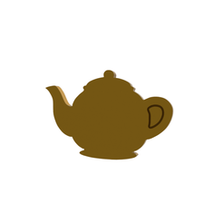 Tea Pot v2.png Download STL file Tea Pot Cookie Cutter • 3D printable object, dwain