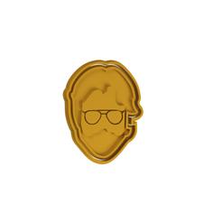 Download 3D printing files La Casa De Papel - The Professor V2 Cookie Cutter, dwain