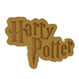 Download 3D printer files Harry Potter Name Cookie Cutter, dwain