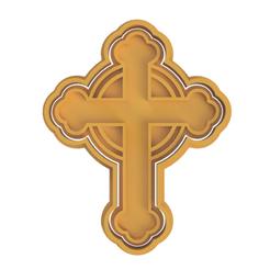 Cross.png Télécharger fichier STL Coupe-biscuits croisés • Objet imprimable en 3D, dwain