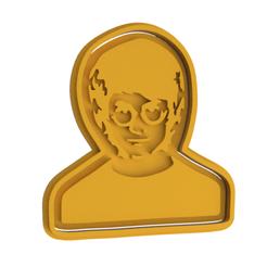 Download 3D printer designs Harry Potter Cookie Cutter, dwain