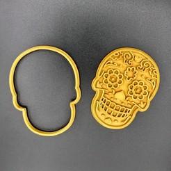 IMG_1862.jpg Télécharger fichier STL Coupeuse de biscuits mexicaine Sugar Skull • Plan pour impression 3D, dwain