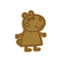 Download 3D printer files Peppa Pig Suzy Cookie Cutter, dwain