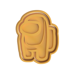 Among Us V2.png Download STL file Among Us Cookie Cutter • 3D printing design, dwain