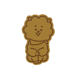 BT21 RJ v1.png Download STL file BT21 RJ Cookie Cutter • Template to 3D print, dwain