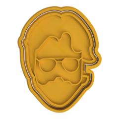 Download 3D printing files La Casa De Papel - The Professor Cookie Cutter, dwain