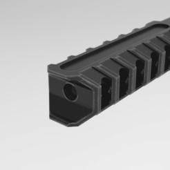 Download 3D printer model MJR MOD5 Muzzle Brake, Math3w