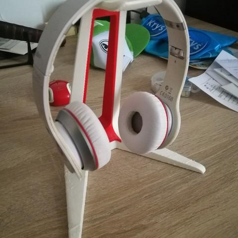 STL gratuit Support coloré pour Casque d'écoute, arsenal_57