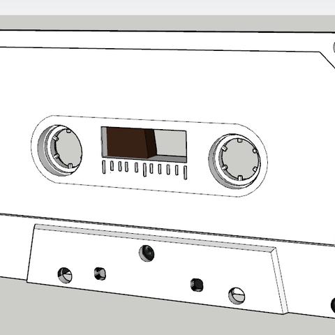 Capturev2.PNG Download free STL file Audiotape • Model to 3D print, TanguyPinel