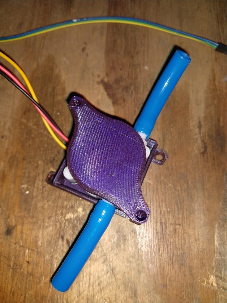 caudalimetro3.jpg Télécharger fichier STL gratuit COMPTEUR D'EAU • Design pour imprimante 3D, ELBONAERENSE