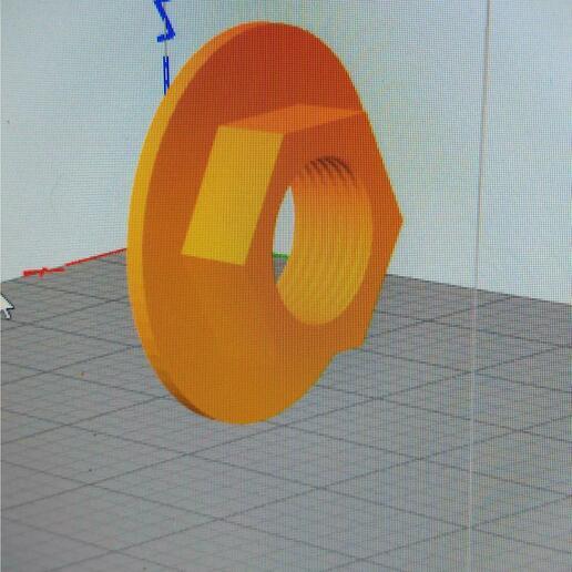 TUERCA 2.jpeg Download STL file Spacers • 3D printer model, ELBONAERENSE
