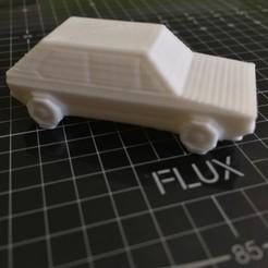 Fichier 3D gratuit Volkswagen Golf GTI - Low Poly Miniature, Moisesduro