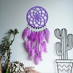 IMG_20201018_124436.jpg Download STL file Mandala - dream catcher • 3D printable object, eliza_sparrow
