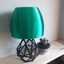 3D printer models Romantic bedroom lamp, eliza_sparrow