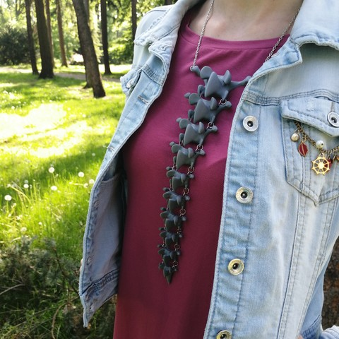 3D print model Spine necklace, eliza_sparrow