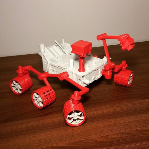 plan 3d gratuit Curiosity Rover, eliza_sparrow