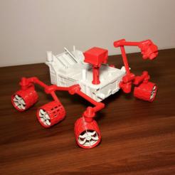 STL gratuit Curiosity Rover, eliza_sparrow