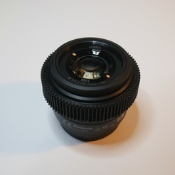 P1300280.JPG Download free STL file Focus Gear For Panasonic 25mm F1.7 • 3D print object, NikodemBartnik