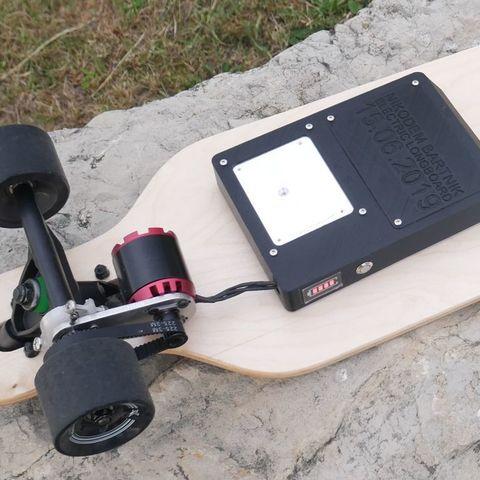 Download free 3D printer designs DIY Electric Longboard, NikodemBartnik