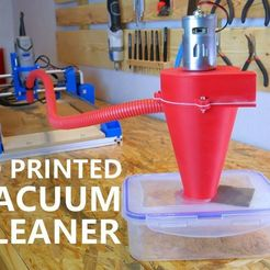 Download free 3D printer files 3D Printed Vacuum Cleaner For CNC Machine, NikodemBartnik