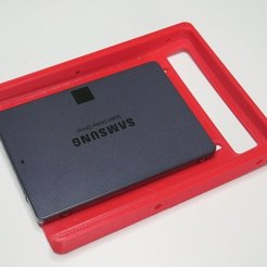 "P1210408.JPG Download free STL file SSD Adapter 2.5"" to 3.5"" • 3D printer model, NikodemBartnik"