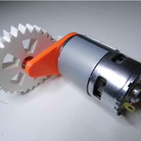 908f9e6b7d0fe5dff02ae786060976c3_preview_featured.jpg Download free STL file 775 motor gear • 3D printable model, NikodemBartnik