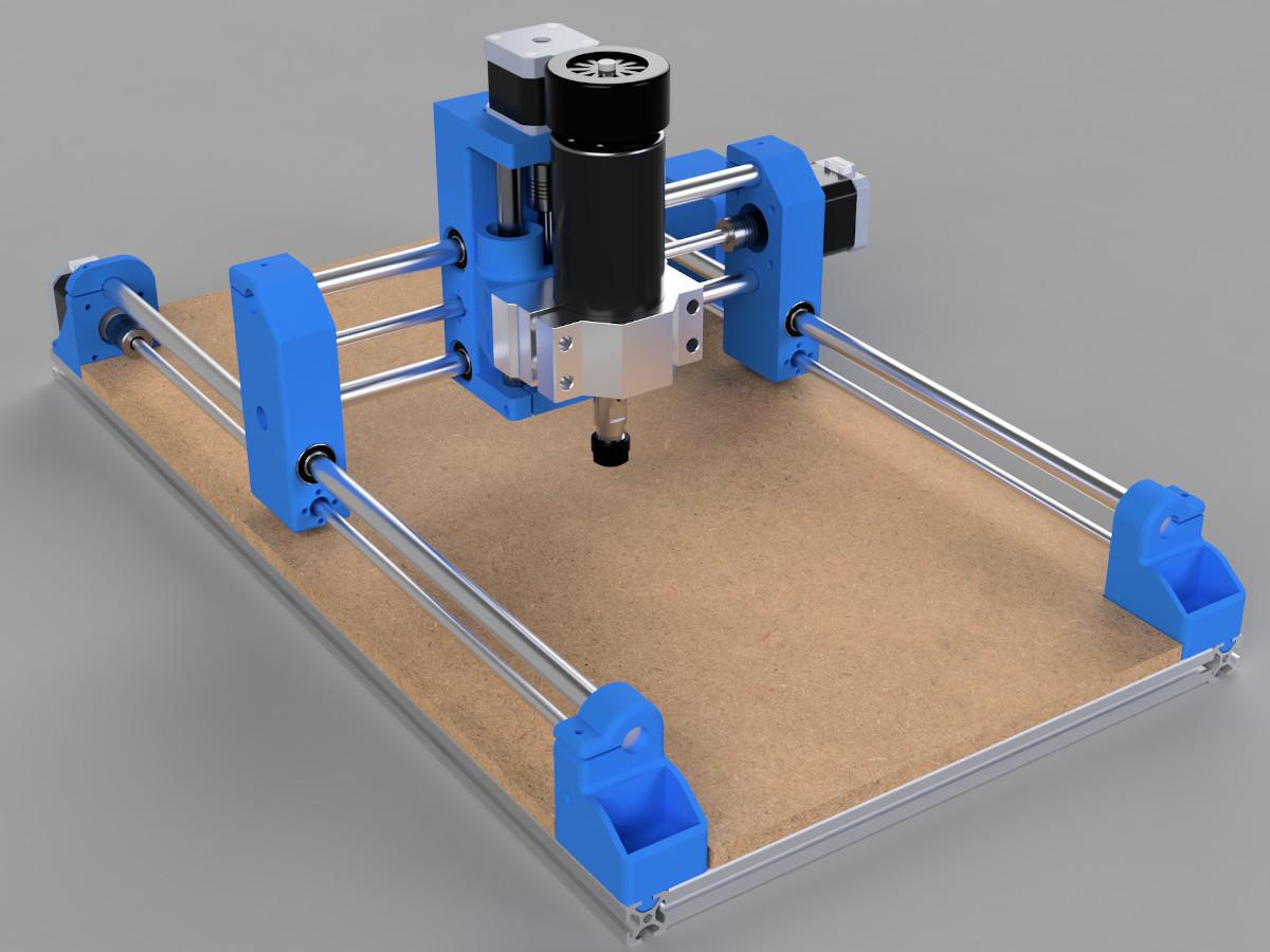 6.jpg Download free STL file DIY 3D Printed Dremel CNC • 3D printer object, NikodemBartnik