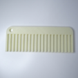 Download free 3D printer templates Simple comb - Useful 3D prints: #1 Bathroom, NikodemBartnik