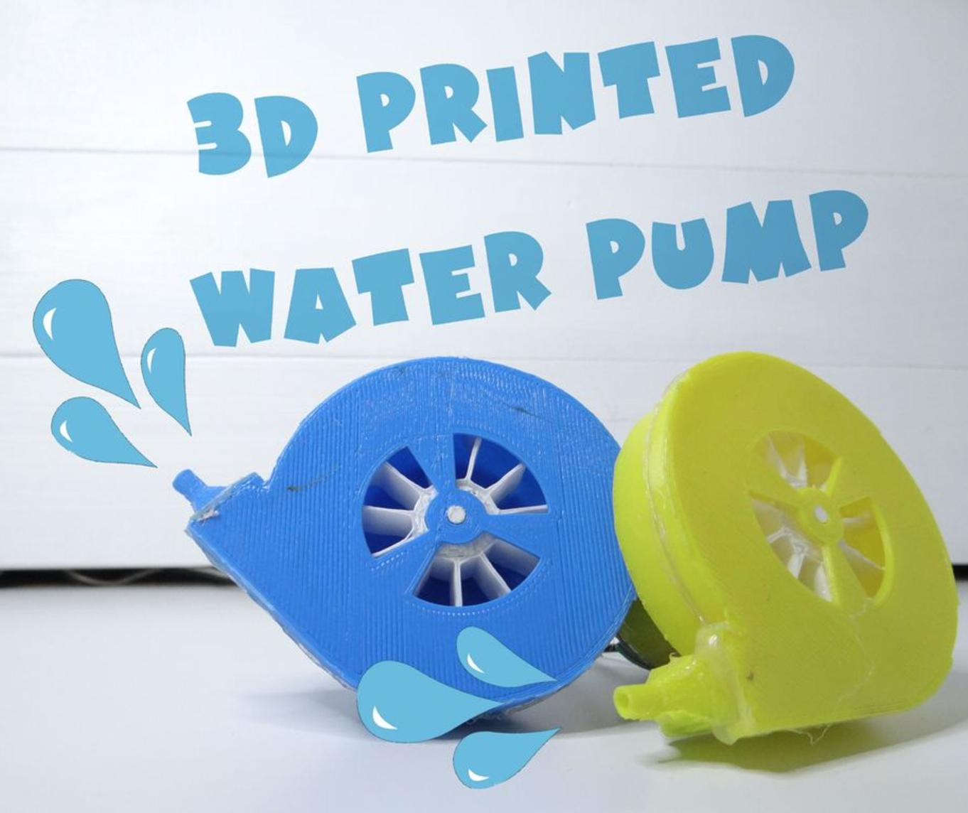 Capture d'écran 2017-08-17 à 19.03.56.png Download free STL file Water pump • 3D printing object, NikodemBartnik