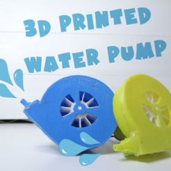 Download free STL files Water pump, NikodemBartnik