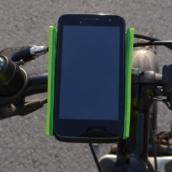 Free 3d printer model Smartphone bike holder, NikodemBartnik