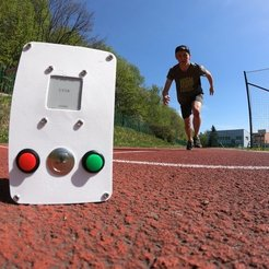 Download free 3D printer files DIY Sprint Race Timing System with Arduino, NikodemBartnik