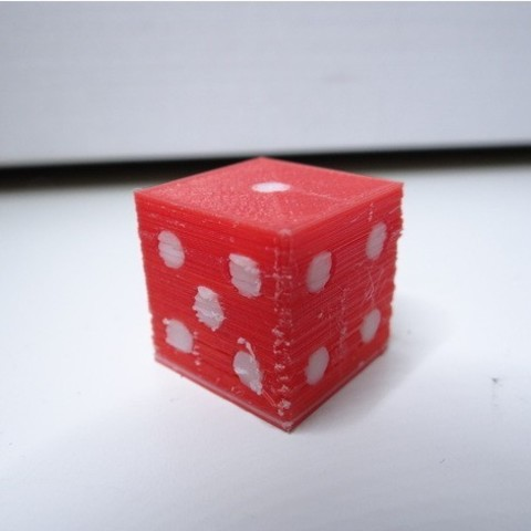 66a3414da4ab5b064a908ffa483f634b_preview_featured.jpg Download free STL file Simple dual color dice • Model to 3D print, NikodemBartnik