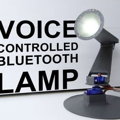 Download STL file Bluetooth Voice Controlled Moving Lamp • Model to 3D print, NikodemBartnik