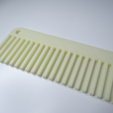 Free stl file Simple comb - Useful 3D prints: #1 Bathroom, NikodemBartnik