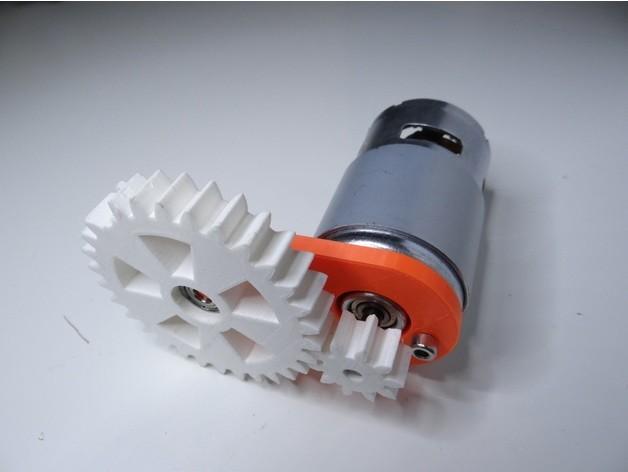 527f7432da597a168c8d01b6f3ca04f7_preview_featured.jpg Download free STL file 775 motor gear • 3D printable model, NikodemBartnik