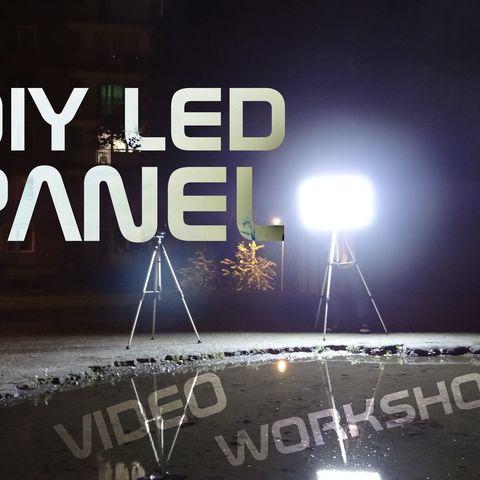 Free STL file DIY LED panel parts, NikodemBartnik