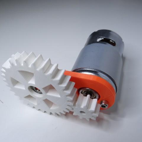 Télécharger plan imprimante 3D gatuit 775 motoréducteur, NikodemBartnik