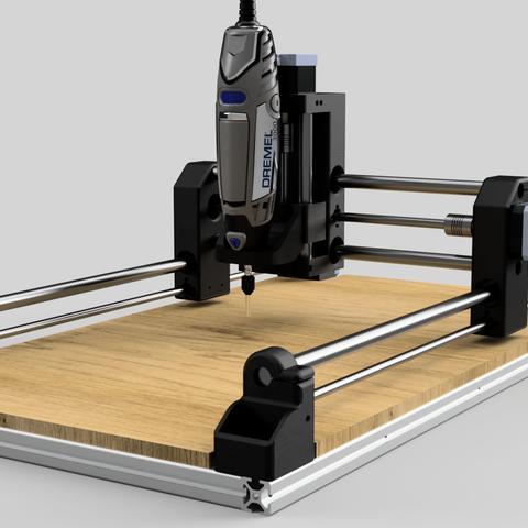 cnc_1_2018-Jun-28_01-18-35PM-000_CustomizedView22012432860_png.png Download free STL file DIY 3D Printed Dremel CNC • 3D printer object, NikodemBartnik