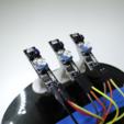 Télécharger fichier 3D gratuit arduino Châssis pas cher adhérent titulaire kit ligne linefollower line_follower robot robotique capteur capteurs support trois, NikodemBartnik
