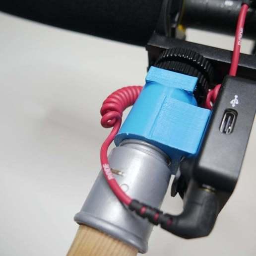 P1370115.JPG Télécharger fichier STL gratuit Adaptateur de balai pour micro perche • Design pour impression 3D, NikodemBartnik