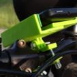 Imprimir en 3D gratis Soporte de bicicleta para Smartphone, NikodemBartnik