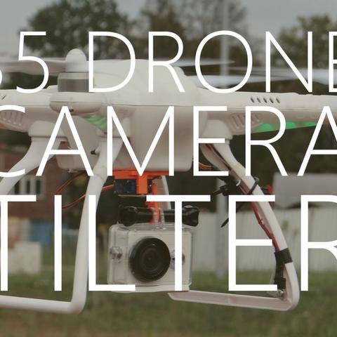 Capture d'écran 2017-08-17 à 18.16.57.png Download free STL file $5 drone camera tilter • 3D printable object, NikodemBartnik